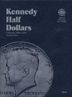 Whitman Kennedy Half Dollars 1986-2003 Coin Folder Coin Collecting Book and Supply #030709698x