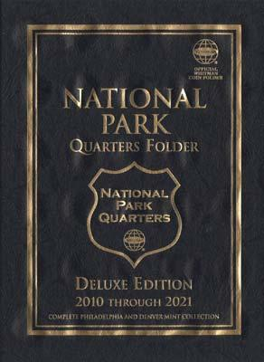 Whitman Publishing National Park Quarters 2010-21 Deluxe Edition -- Coin Collecting Book and Supply -- #0794828752