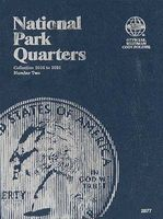 Whitman National Park Quarter Folder 2016-2021 Coin Collecting Book and Supply #0794828779