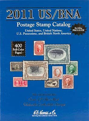 Whitman Publishing 2011 US/BNA Postage Stamp Catalog