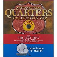Whitman National Park Quarters Map Limted S Quarte Coin Collecting Book and Supply #0794840329