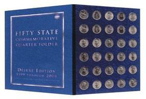 Whitman 50 State Quarter 1999-2009 Coin Collecting Book and Supply #1582380783