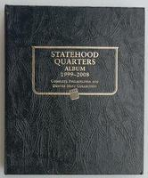Whitman Statehood Qtr Album 1999-2008 Coin Collecting Book and Supply #1582380899