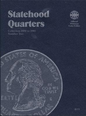 Whitman Statehood Quarters Vol.2 2002-2005 Coin Folder Coin Collecting Book and Supply #1582381119