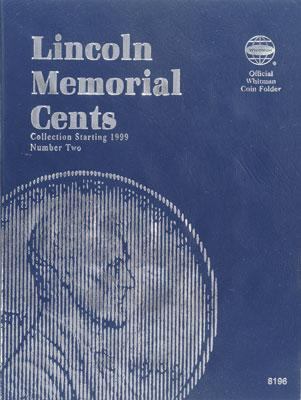 Whitman Publishing Lincoln Memorial Cents 1999-2004 Coin Folder -- Coin Collecting Book and Supply -- #1582381968