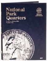 Whitman National Park Quarters Vol.2 2016-21 Philadelphia & Denver Mint Coin Folder