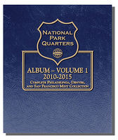 National Park Quarters Album-Volume 1 2010-2015 Coin Collecting Book and Supply #3058