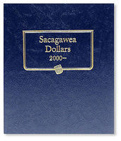 Whitman Sacagawea Dollar 2000-2004 Album Coin Collecting Book and Supply #380619