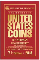 Whitman 2018 71st Edition Guide Book of United States Coins Red Book