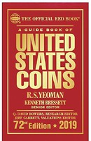 Whitman 2019 72nd Edition Guide Book of United States Coins Red Book (ETA Late MAR)