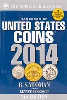 Whitman 2014 Blue Book Coin Collecting Book #794841880