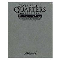 Whitman Gray Folder SSQ/Territories AP Coin Collecting Book and Supply #8hrs2776t