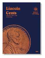 Whitman Lincoln Cents 1909-1940 Coin Folder Coin Collecting Book and Supply #9004