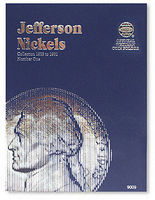 Whitman Jefferson Nickels 1938-1961 Coin Folder Coin Collecting Book and Supply #9009