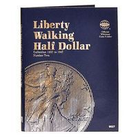Whitman Liberty Walking Half Dollars 1937 Coin Folder