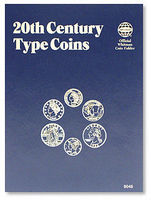 Whitman 20th Century Types Coin Folder Coin Collecting Book and Supply #9046
