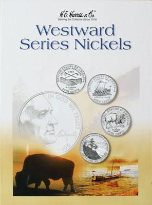 Whitman Publishing Westward Series Nickel Folder 04-06