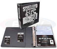 Whitman Sports Card Collectors Starter Kit