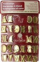 Upper Case Hot Stamps Alphabet Set Hot Tool Accessory #26162