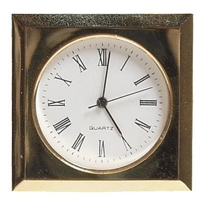 Walnut Hollow Gold Romanian Mini Bezel -- Clock Making Accessory -- #27271
