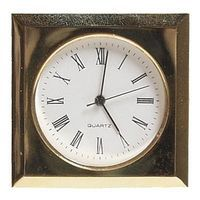 Gold Romanian Mini Bezel Clock Making Accessory #27271