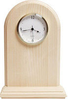 Walnut-Hollow Arch Clock with Bezel Clock Making Accessory #27640