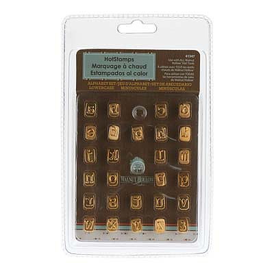 Walnut Hollow Mini Hotstamps Alphabet Set Lowercase