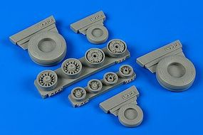 Wheeliant F14A Tomcat Weighted Wheels for ACY Plastic Model Aircraft Accessory 1/48 Scale #148011