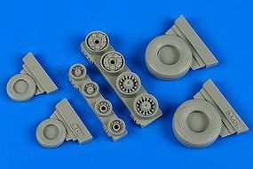 Wheeliant F14A Tomcat Weighted Wheels for HBO Plastic Model Aircraft Accessory 1/48 Scale #148013