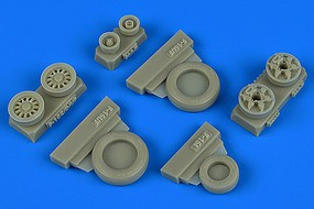 Wheeliant 1/48 F16I Sufa Weighted Wheels for HSG