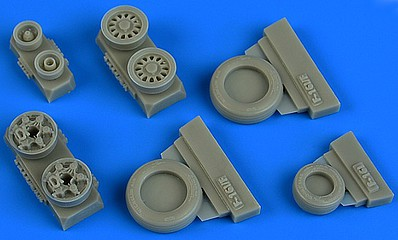 Wheelliant 1/48 F16I Sufa GY Production Weighted Wheels for KIN