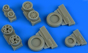Wheeliant 1/48 F16I Sufa GY Production Weighted Wheels for KIN