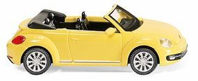 Wiking 2013 Volkswagen New Beetle Convertible Assembled HO Scale Model Railroad Vehicle #2801