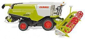 Wiking Claas Lexion 770 Harvester w/V1050 Grain Mower HO Scale Model Railroad Vehicle #38910