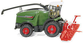 Wiking Fendt Katana 65 Combine w/Conspeed Corn Head Assembled HO Scale Model Railroad Vehicle #38999