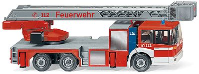 Wiking DLK 23-12 Fire Service - HO-Scale
