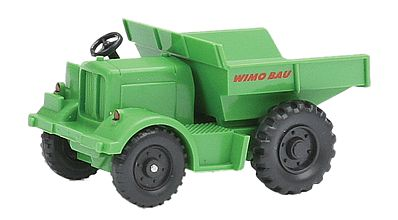 Wiking Zettelmeyer Dumper (Tipper) Truck Wimo Bau (Green) HO Scale Model Railroad Vehicle #65703