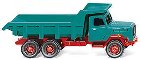 Wiking Magirus Saturn Dump Truck HO Scale Model Railroad Vehicle #67001