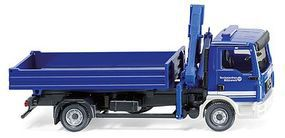 Wiking MAN TGL Low-Side Truck with Cargo Crane TES HO Scale Model Railroad Vehicle #69319