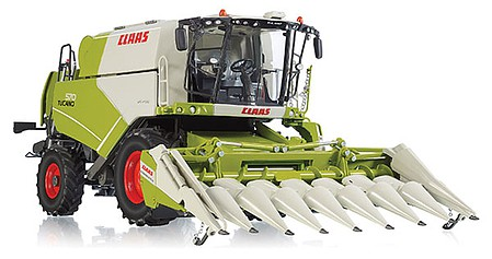 Wiking Claas Combine w/Corn Hdr - 1/32 Scale