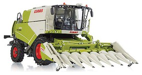 Wiking Claas Combine w/Corn Hdr 1/32 Scale