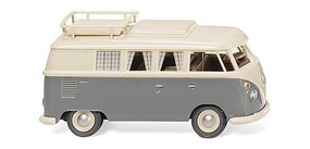 Wiking VW T1 Camping Van Wht/Gry