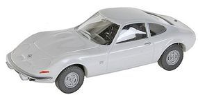 Wiking Opel GT Sedan White HO Scale Model Railroad Vehicle #80409