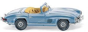 Wiking Mercedes-Benz 300 SL Roadster Convertible HO Scale Model Railroad Vehicle #83407