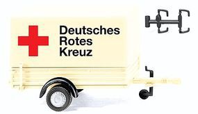 Wiking German Red Cross Trailer - HO-Scale