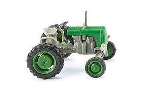 Wiking Steyr 80 Tractor Green HO Scale Model Railroad Vehicle #87649