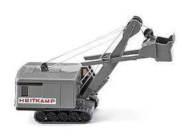 Wiking Menck Excavator Heitkamp HO Scale Model Railroad Vehicle #89705
