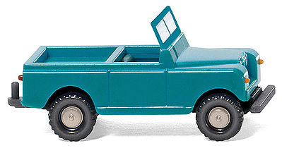 Wiking Land Rover 88 Open-Cab SUV Assembled N Scale Model Railroad Vehicle #92301