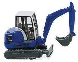 Wiking THW Mini Excavator N-Scale