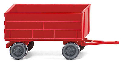 Wiking Krone Emsland Agricultural Trailer -- N Scale Model Railroad Vehicle -- #95640